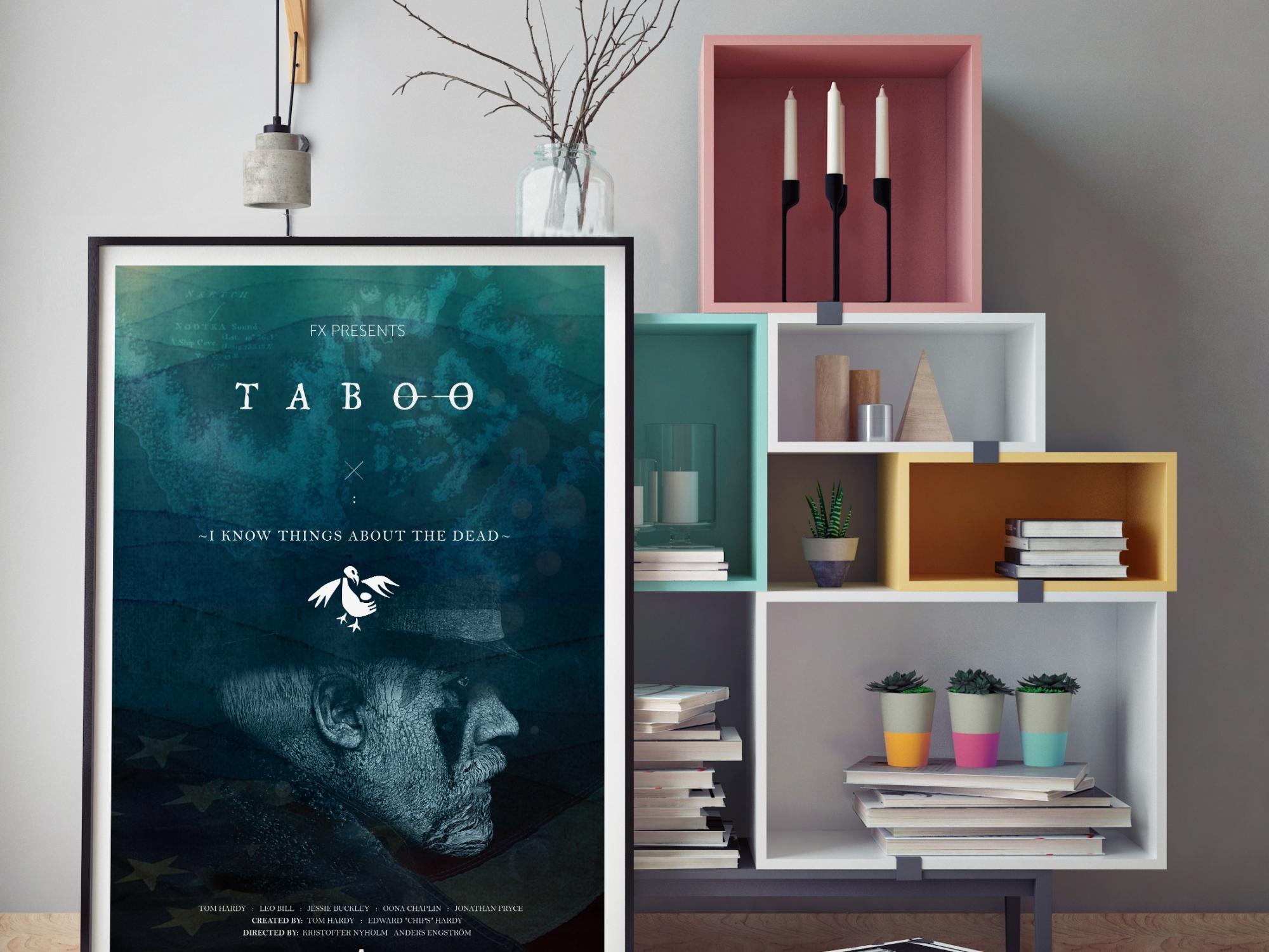 Taboo TV Series Poster Design