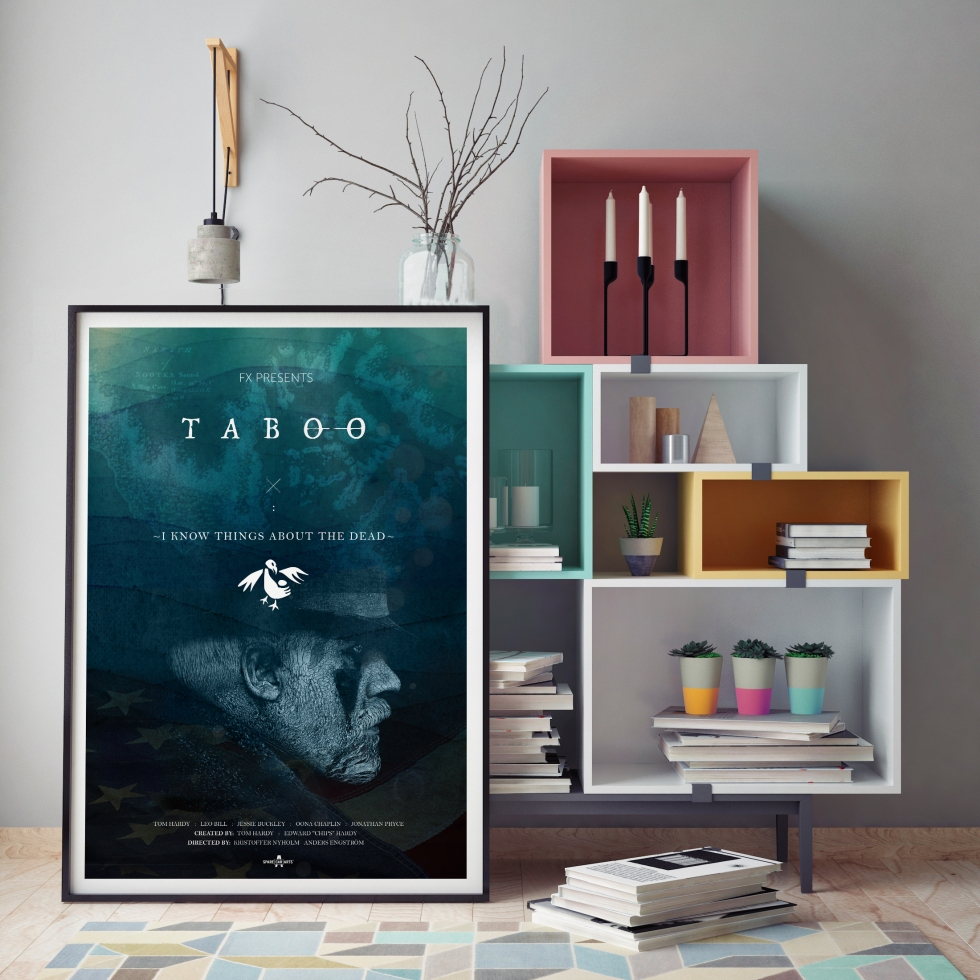 Taboo TV Series Poster Design