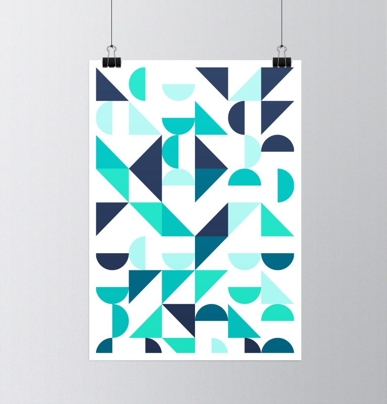 Nordic Wall Print, Scandinavian Print Art, Minimalist Geometric Wall Decor, Abstract Art, Retro Minimalist Modern Prints, Best Selling Art