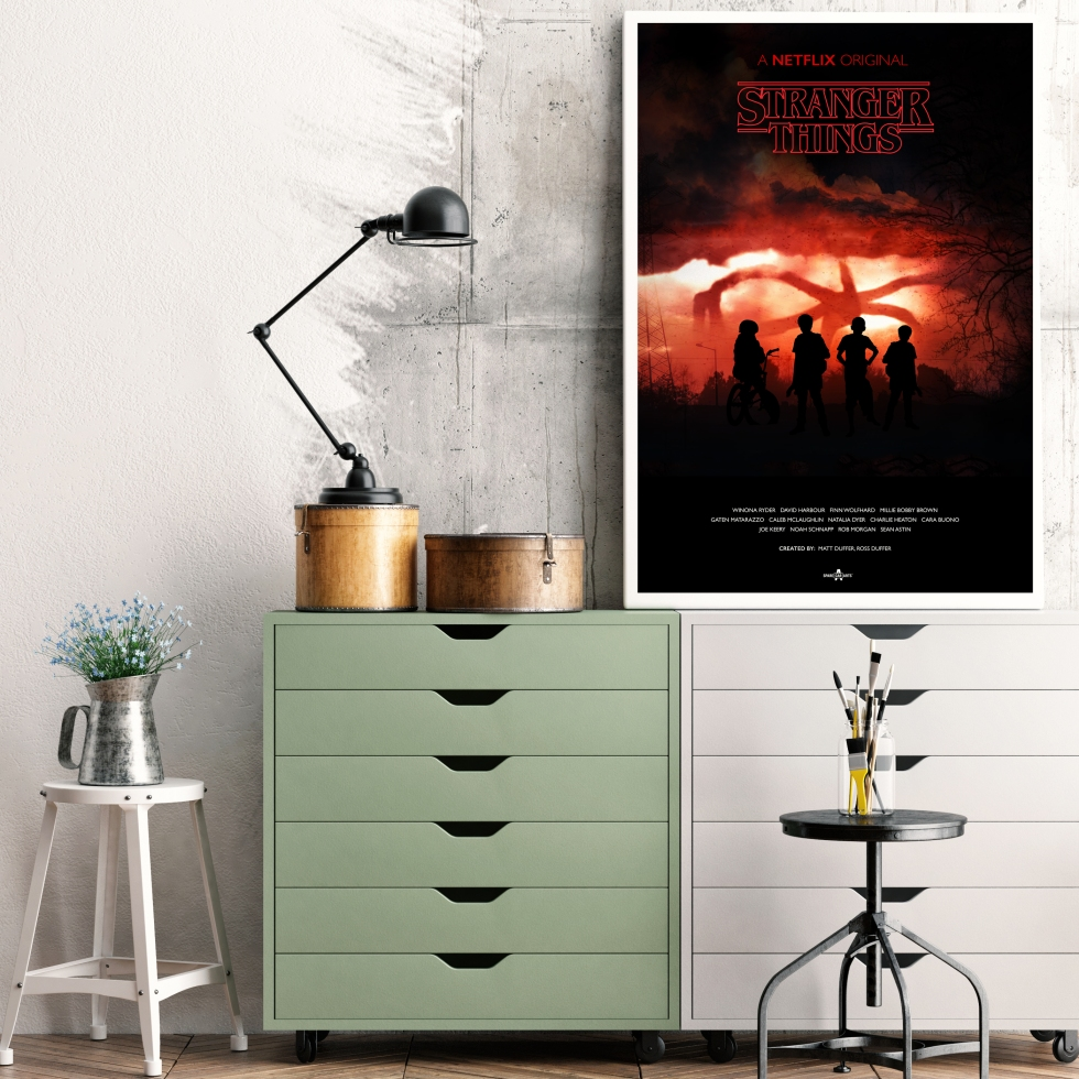 Stranger Things Poster Mockup