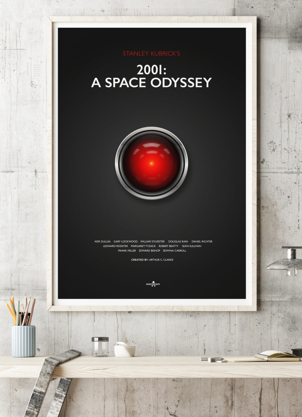 2001 A Space Odyessy Film Poster