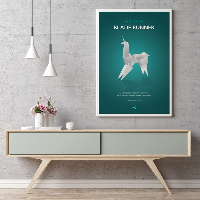 Blade Runner Film Poster Mockup