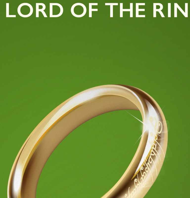 Lord of the Rings Poster Detail
